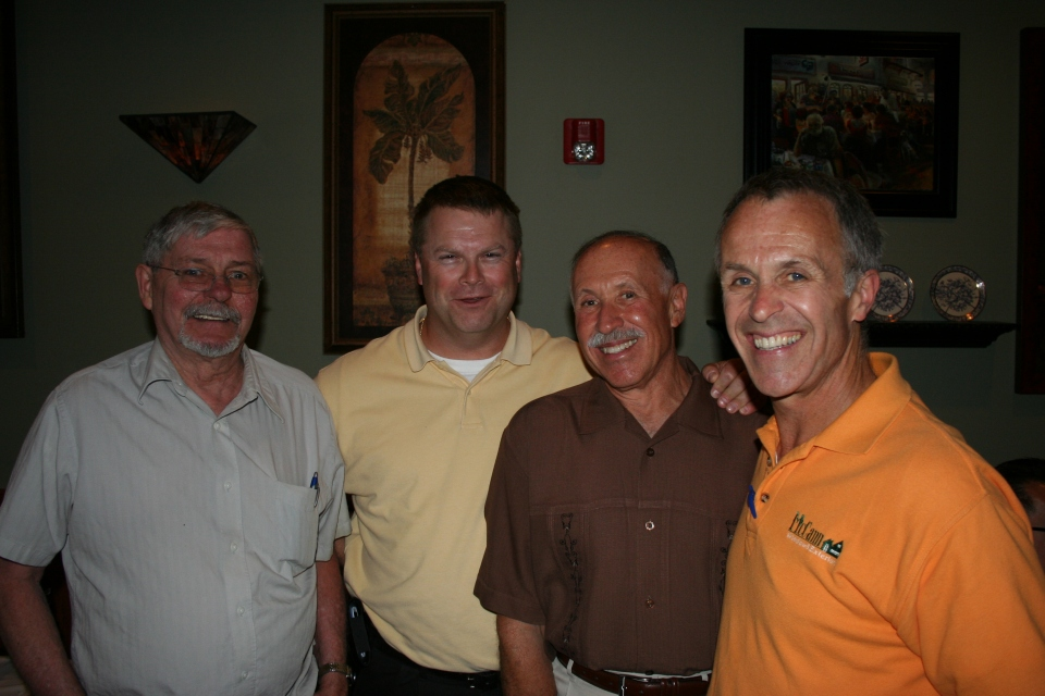 This was a group shot at the retirement party of the legendary Ron Bass.