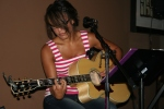 Stephanie Ruggeri at the Zodiac bar in Crown Point, IN.