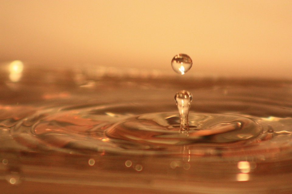 My friend Adam and I shot over 2,000 pictures one evening and got about 70 great water drop shots.