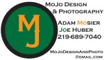 MoJo Design And Photography business card